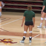 spandex volleyball booty shorts