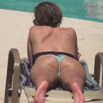 Tan Brunette Sunbather
